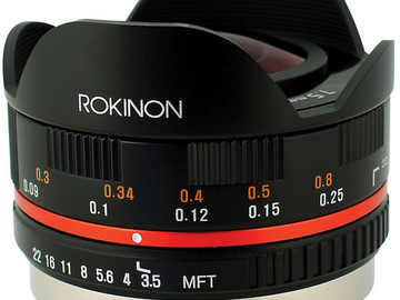 Rent: Rokinon 7.5mm f/3.5 Ultra Wide-Angle Micro 4/3