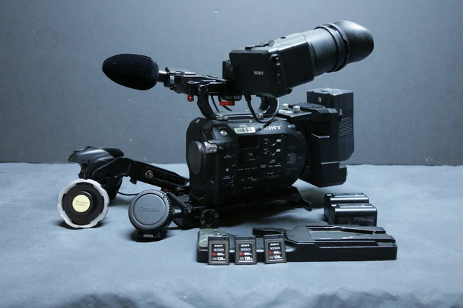Sony PXW-FS7 XDCAM Super 35 Camera (1 of 2)