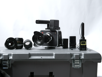 Rent:  Blackmagic Cinema Camera ( Wide Lense/Battery/Lav/Tripod)