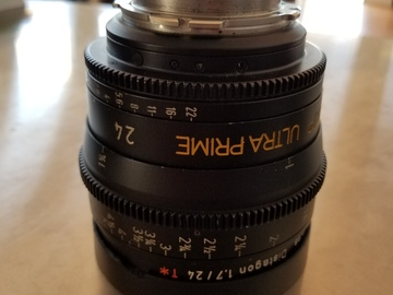 Rent: ARRI 24mm Ultra Prime Distagon T1.7