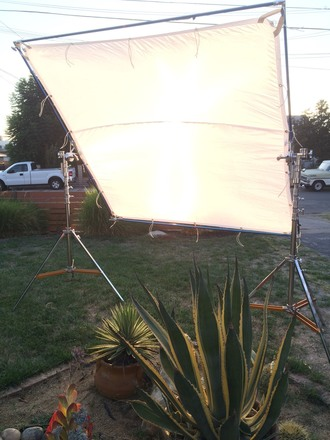8x8 Full Kit - stands, silk, solid, nets, ultrabounce