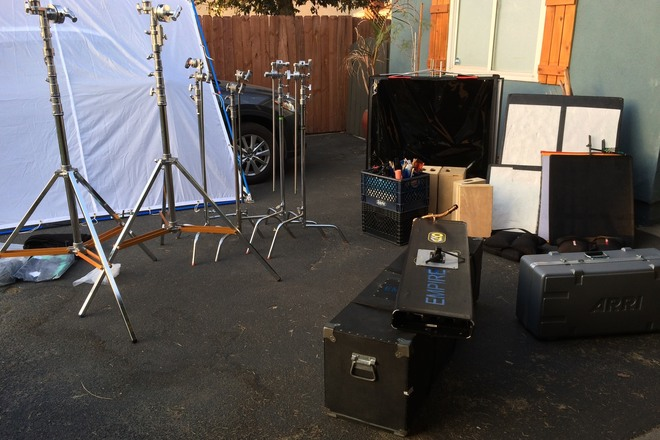 Kinos and Arri Fresnel Kit with 1 Ton Grip Package