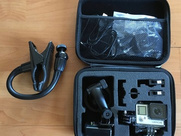 Rent: GoPro Hero4 Silver with Accessories
