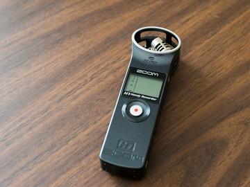Zoom H1 Handy Recorder + Lav Mic
