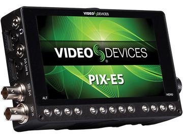 "Rent: Video Devices Pix-E 5"" 4K Monitor/ Recorder"