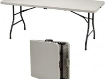 Rent:  6ft Folding Table