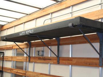 Rent: Truck shelf