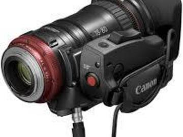 Rent: Canon CN-E 18-80mm T4.4 COMPACT-SERVO Cinema Zoom Lens