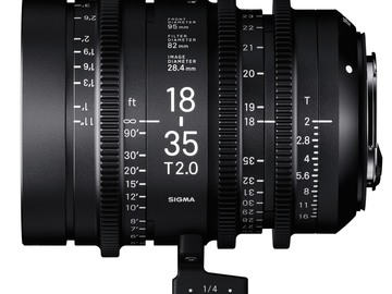 Rent: Sigma Cine 18-35mm T2 (EF)
