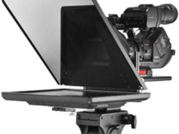 Rent: 17-inch tripod mount Teleprompter Kit