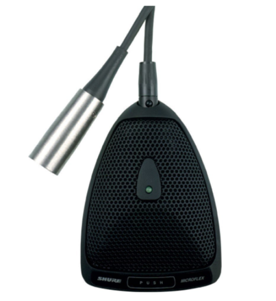 Shure MX393/O Condenser Microphone - Omni