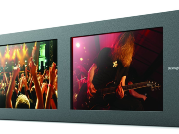 "Rent: Smartview Duo Rackmountable Dual 8"" LCD Monitors"