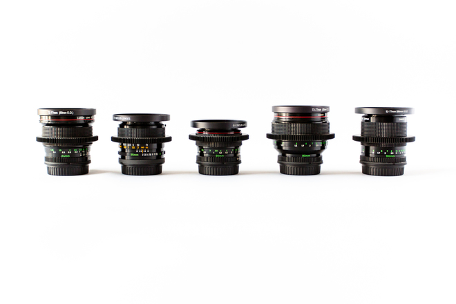 Canon Vintage FD Lens Set (EF Mount)