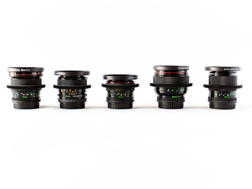 Rent: Canon Vintage FD Lens Set (EF Mount)