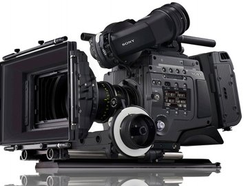 Rent: Sony F65 Package, Lens, Monitor, Power, Dana Dolly