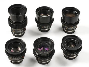 Rent: 6 Lens Leica R EF Mount Set