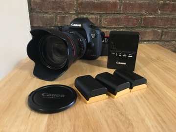 Rent: Canon EOS 5D Mark III with 24-105mm lens