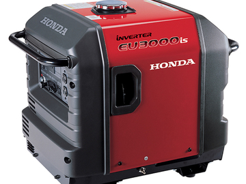 Rent: Honda EU 3000 iS Generator