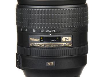 Rent: Nikon AF-S Nikkor 24-120mm f/4G ED VR