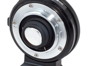 Rent: Metabones Nikon G to BMPCC Speed Booster 0.58x