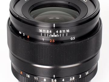 Rent: XF 23mm F1.4