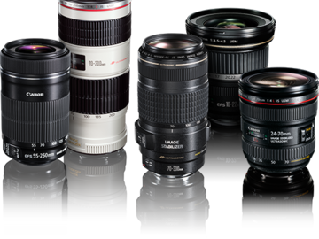 Rent: Canon Zoom Package! (11-16mm, 24-105mm, 70-200mm)
