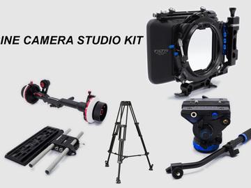 Rent: Camera Studio kit. Follow Focus, Matte Box, baseplate