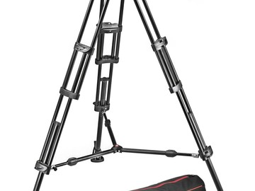 Manfrotto 503HDV Video Fluid Head and Tripod