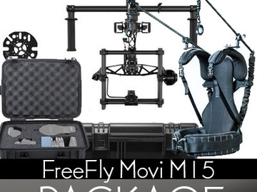 Rent: Freefly MoVI M15 Gimbal Stabilizer Package with ReadyRig Pro