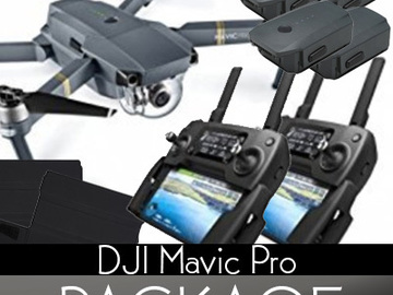 Rent: DJI Mavic Pro Package