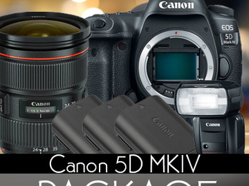 Rent: Canon 5D Mark IV w/ Canon log + AI Flash Package