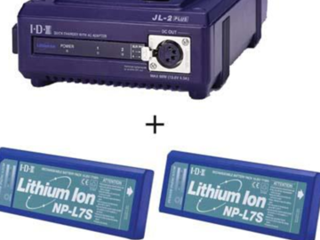 Rent: IDX dual charger and NPL7s batteries IDX