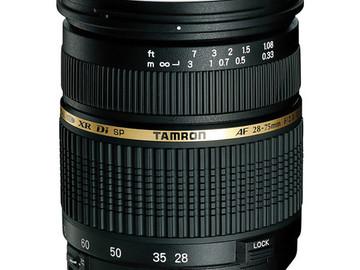 Rent: Tamron SP 28-75mm f/2.8 XR Di LD