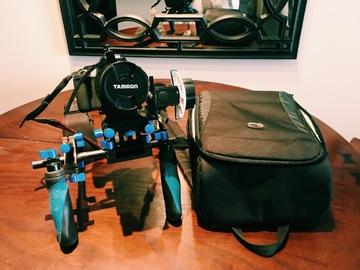 Rent: Canon Rebel T4i + Tamron 28-75mm + Shoulder Rig Package