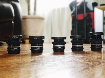 Rent: Nikon Standard Speed Lens Set (24,35,50,85,105) EF MOUNT