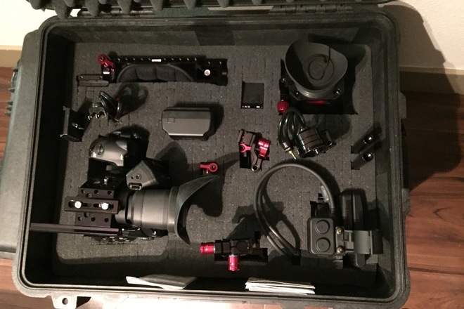 C300 camera body with Z-Finder Recoil Kit