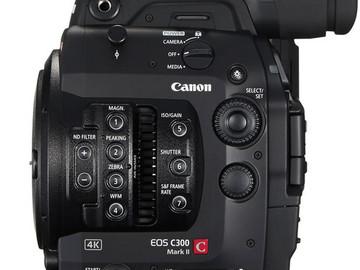 Canon EOS C300 Mark II Cinema Camera