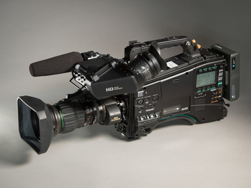 "Rent: Panasonic PX800 2/3"" P2 camera, cards, & wide angle lens"
