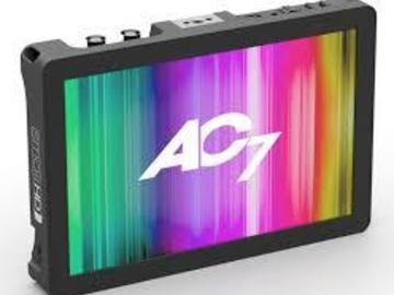 Rent: SmallHD AC7-OLED SDI/HDMI 7.7-in Monitor w/4 LP-E6 Batts