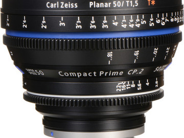 Rent: Zeiss Compact Prime CP.2 50mm Superspeed (EF Mount)