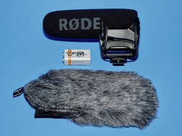 Rent: Rode VideoMic Pro VMPR Rycote With Dead Kitten Wind Screen