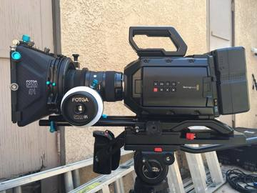 Rent: Blackmagic URSA Mini 4.6K Full Package w/Wireless Video