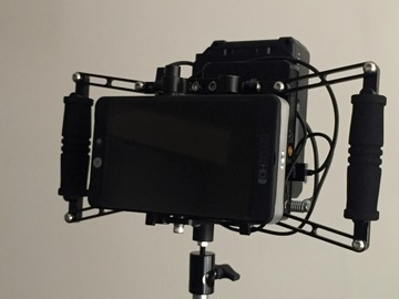 Wireless Monitor Kit: SmallHD 702 Lite + Ghosteye 150M + 2 V