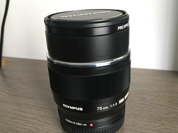 Rent: Olympus 75 mm f/1.8