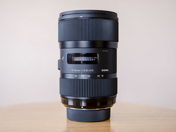 Sigma 18-35mm f/1.8 DC HSM Art EF