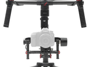 Rent: DJI Ronin M 2 batt, DJI extension, monitor mount, hard case
