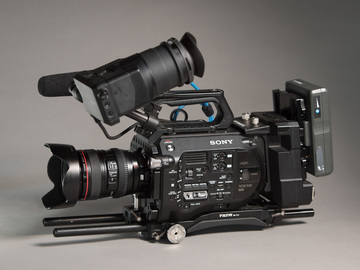 Rent: Sony PXW-FS7 Package w/ XDCA and 24-105/SpeedBooster