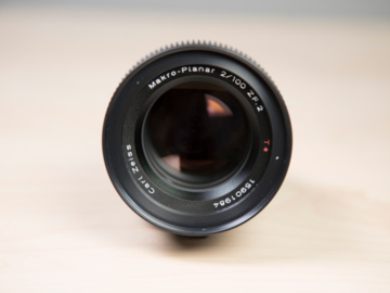 Rent: Zeiss ZF - EF Mount Cine Mod 100mm F2.0 Macro