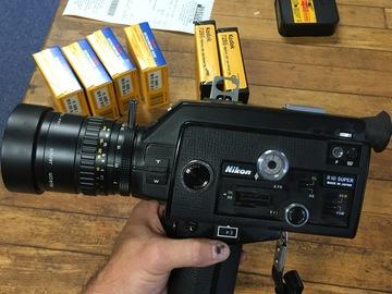 Nikon  R10 Super 8 Camera