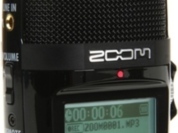 Rent: Zoom H2n (ambisonic audio recorder)